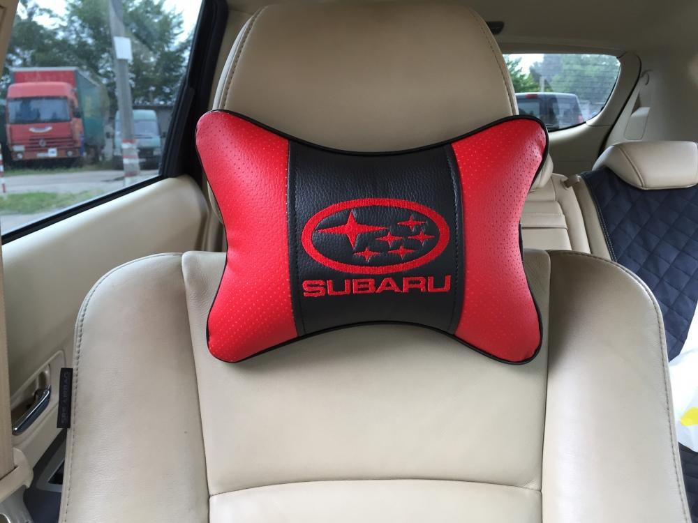 Подушки в авто из экокожи - 3