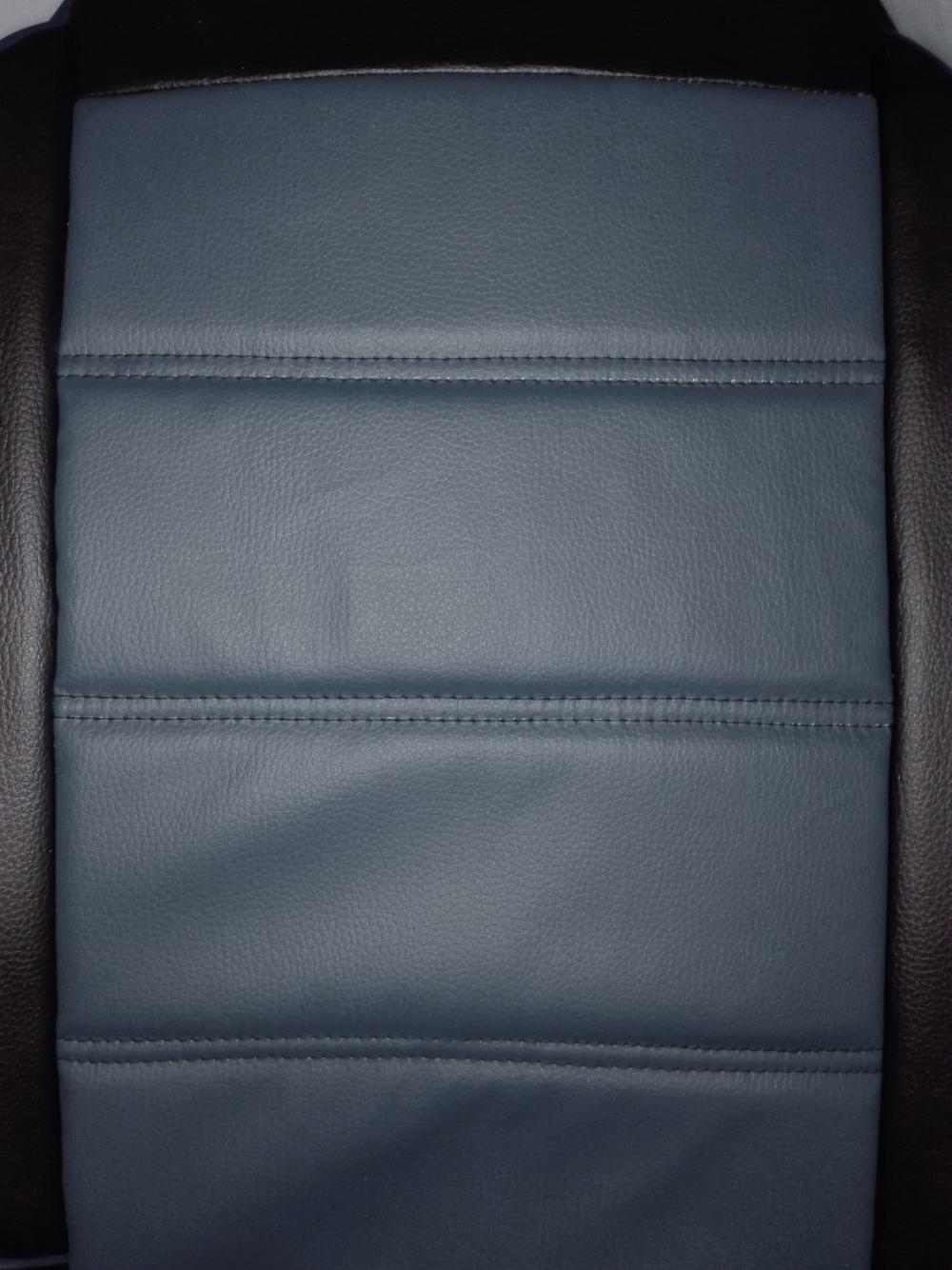 Чехлы на сидение Pilot Lux кожвинил серый - 1