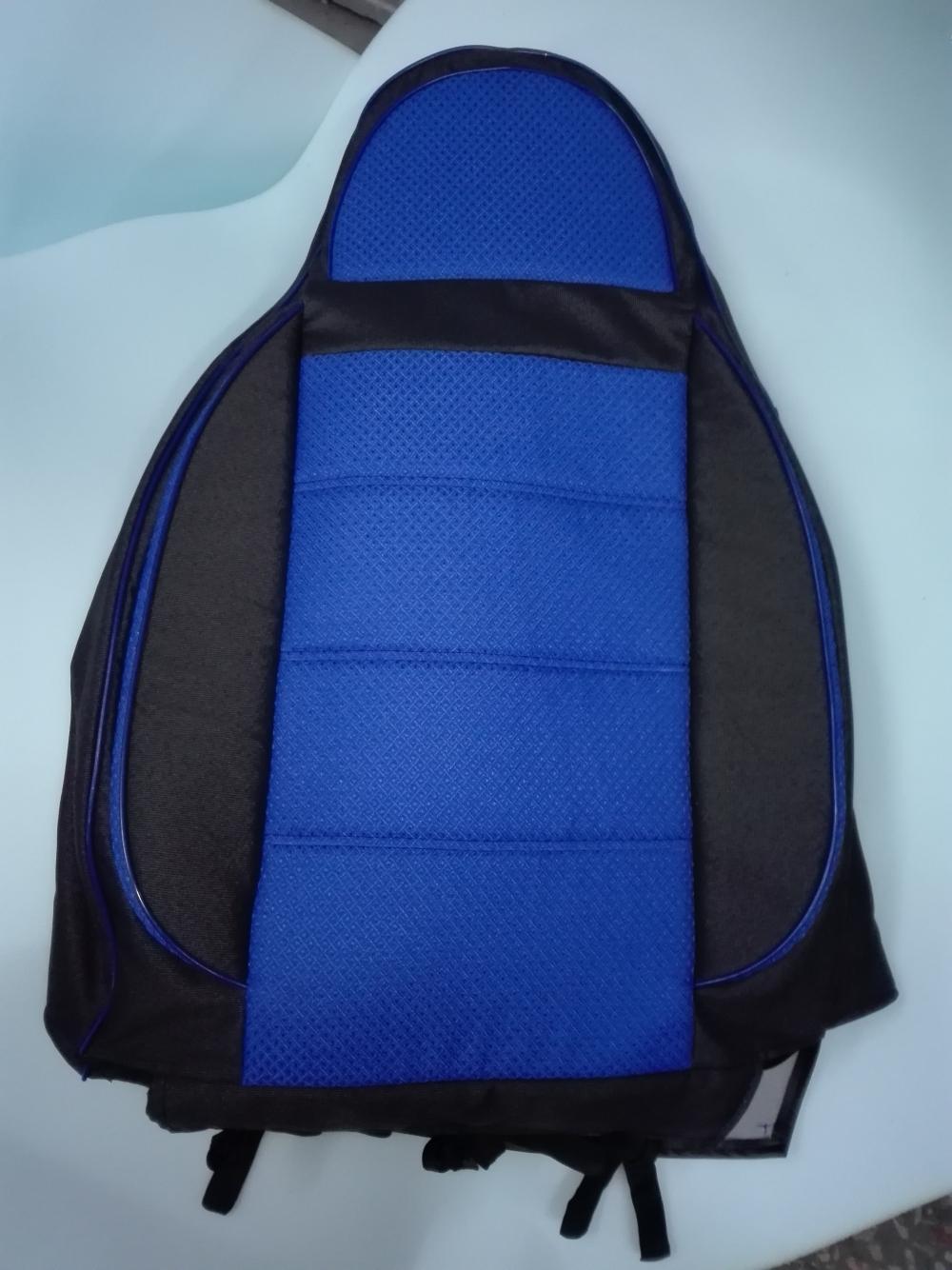 Чехлы на сидения из автоткани Pilot Lux синий - 2