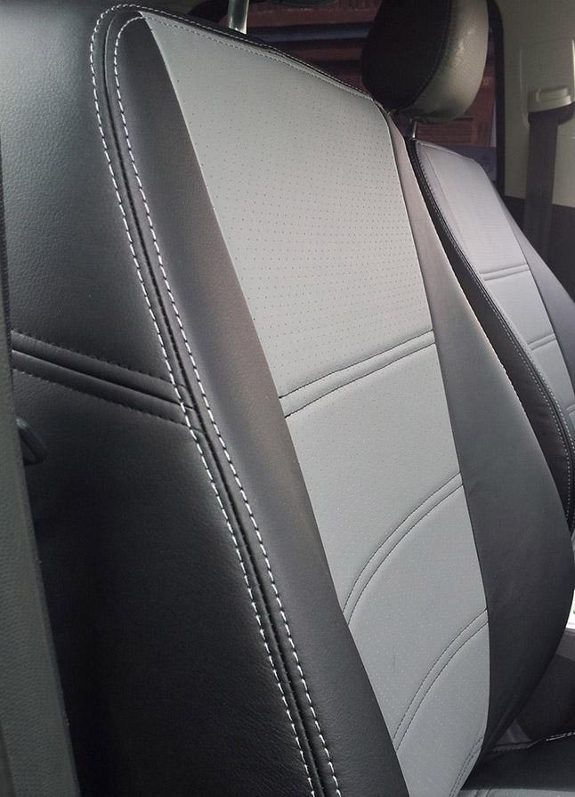 Модельные чехлы на сидения из экокожи  - 4