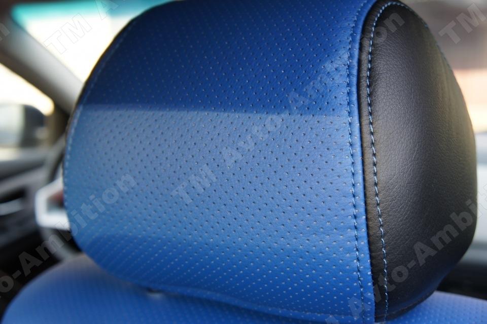 Модельные чехлы на сидения из экокожи  - 1