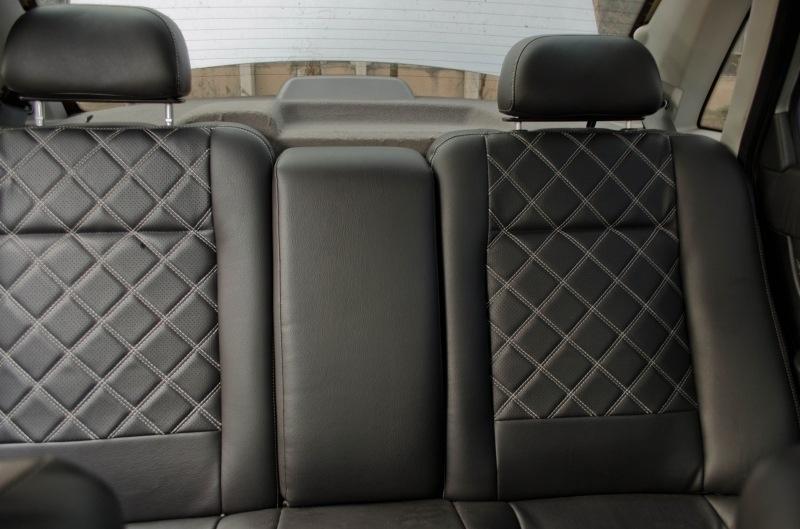 Модельные чехлы на сидения из экокожи Аригон 3D Ромб - 9