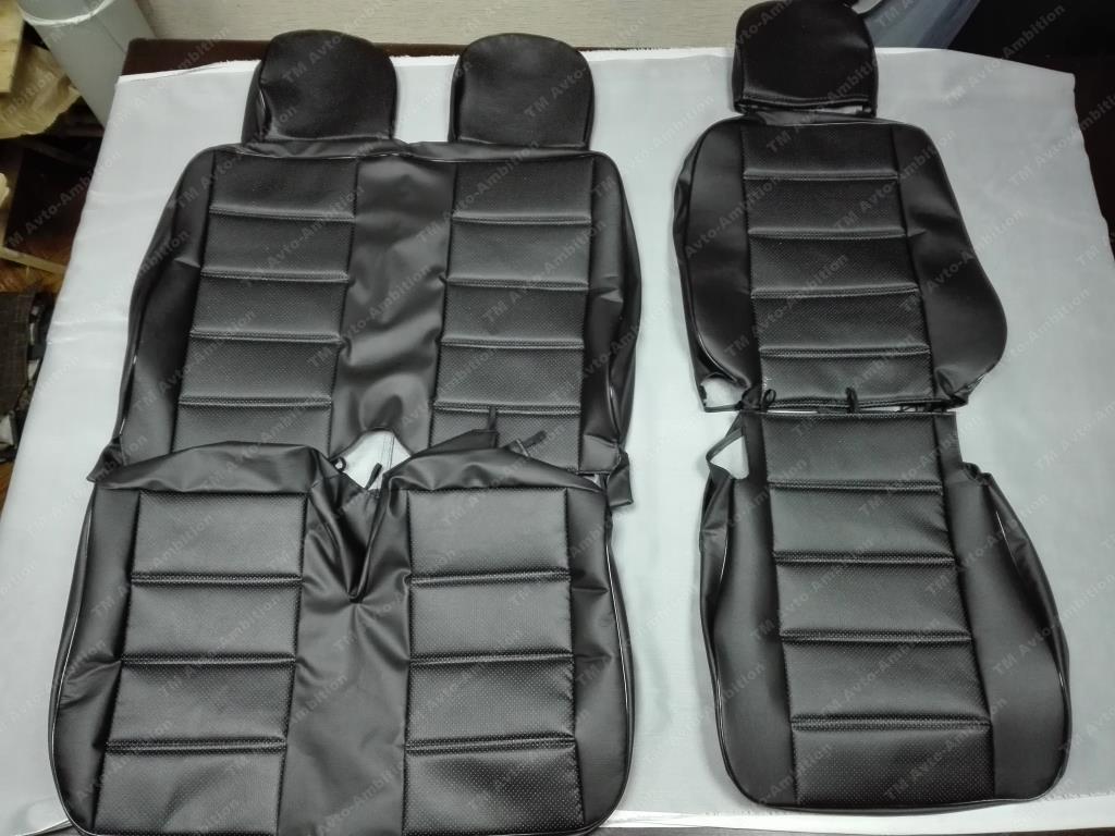 Модельные чехлы для микроавтобусов (экокожа) - 1