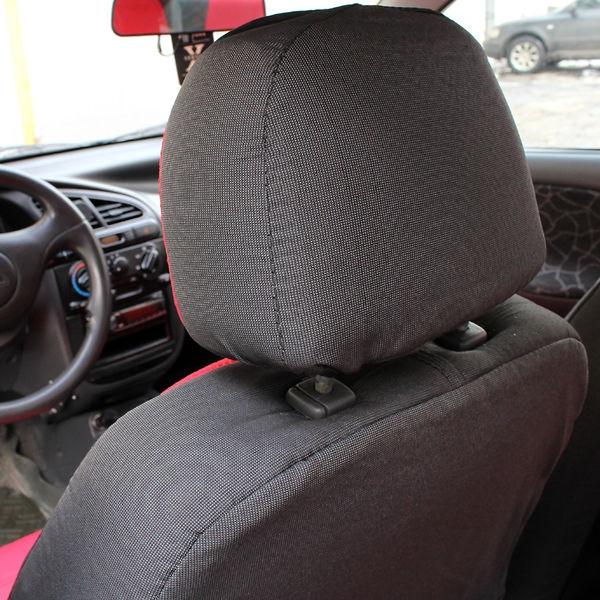 Универсальные чехлы на сидение автоткань Lux - 6