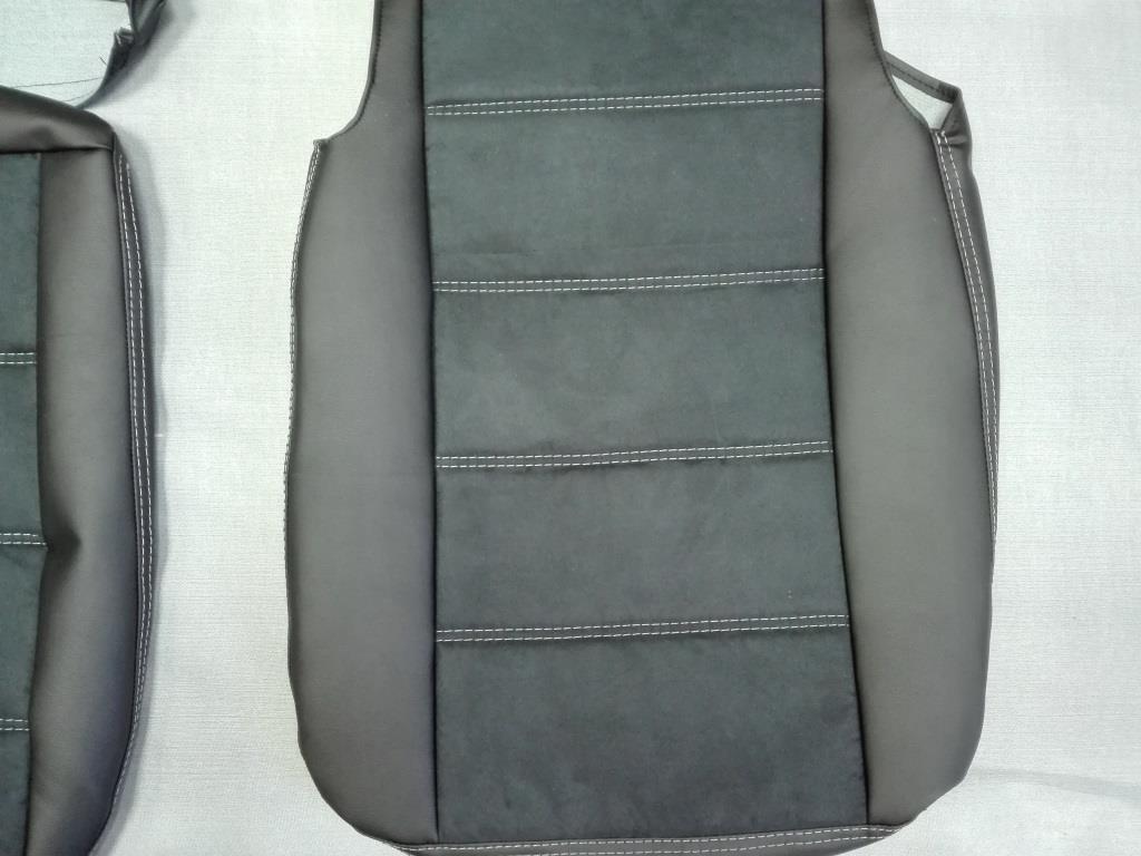 Модельные чехлы на сидения из экокожи  - 10