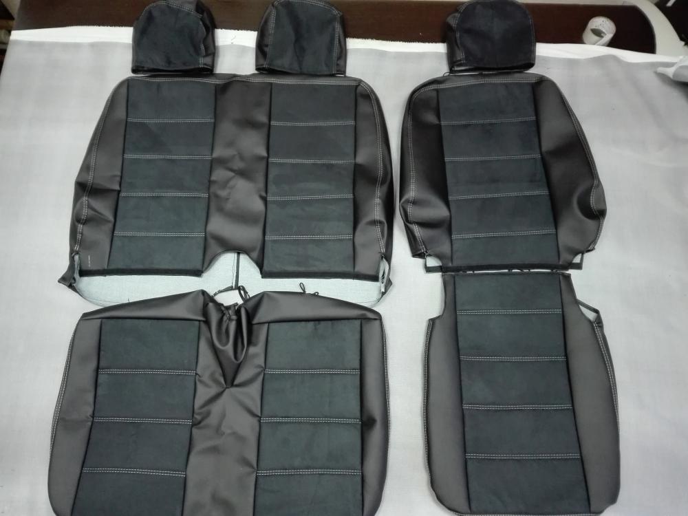 Модельные чехлы для микроавтобусов (экокожа) - 8