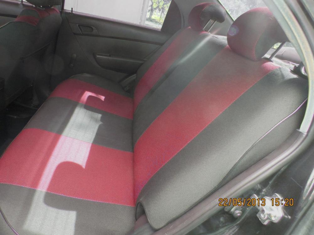 Чехлы на сидения из автоткани Pilot Lux темно красный - 1