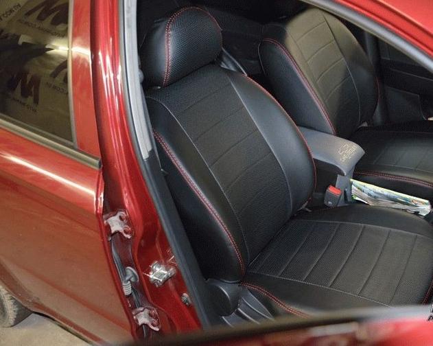 Модельные чехлы на сидения из экокожи Аригон - 10