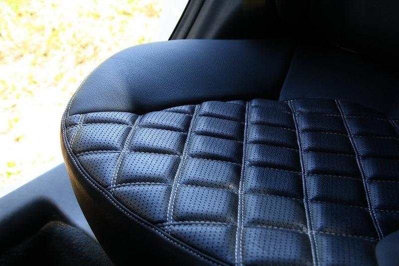 Модельные чехлы на сидения из экокожи Аригон 3D Ромб - 8