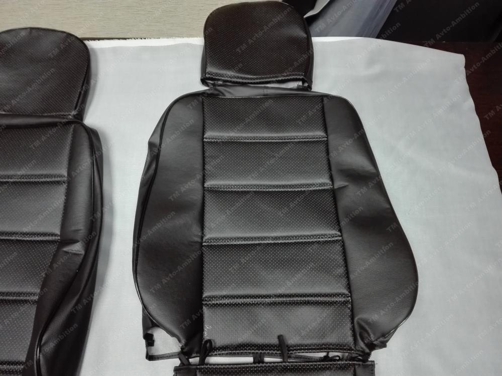 Модельные чехлы для микроавтобусов (экокожа) - 6