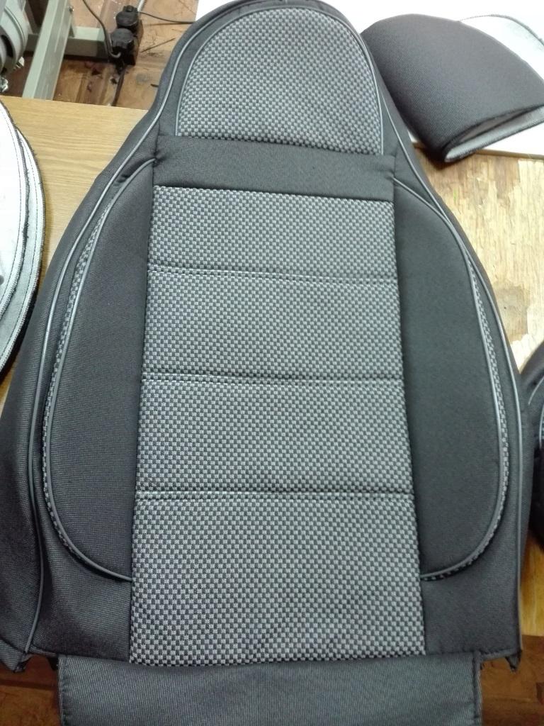 Чехлы на сидения пилот люкс(1+1,1+2) - 6