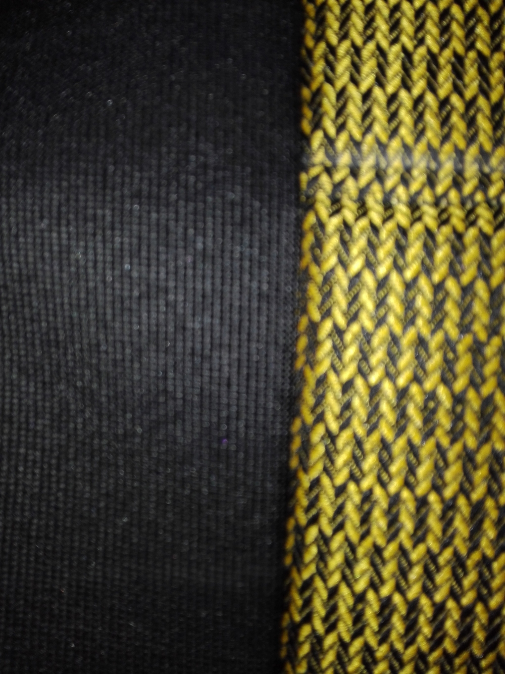 Чехлы на сидения из автоткани Pilot Lux желтый - 1
