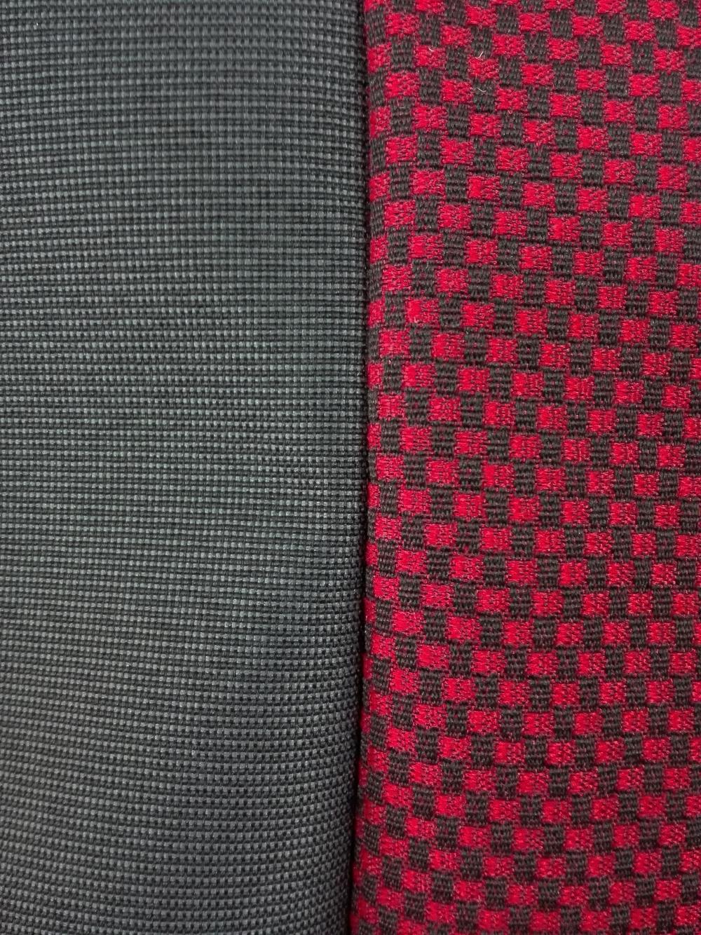 Чехлы на сидения из автоткани Pilot Lux темно красный - 3