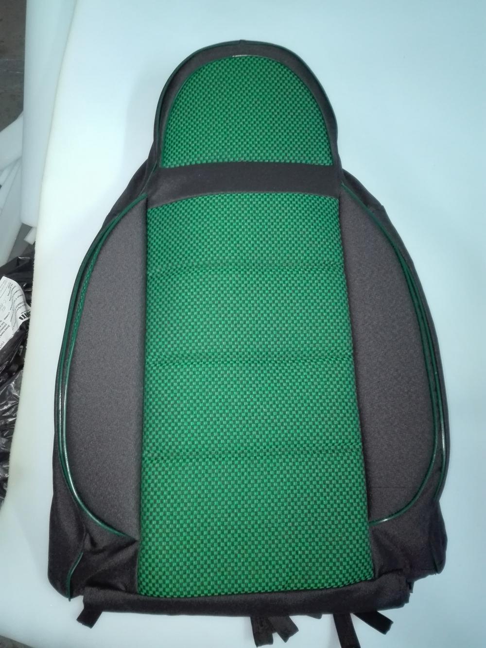 Чехлы на сидения из автоткани Pilot Lux зеленый - 1