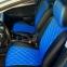 Модельные чехлы на сидения из экокожи Аригон 3D Ромб - 13