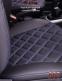 Модельные чехлы на сидения из экокожи Аригон 3D Ромб - 11